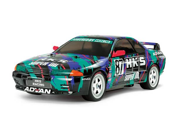 Tamiya 47397 1/10 HKS Nissan Skyline GT-R Gr.A TT-01E 4WD Kit