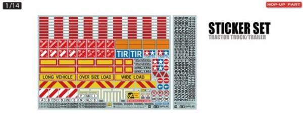 Bilde av Tamiya 56534 Sticker Set