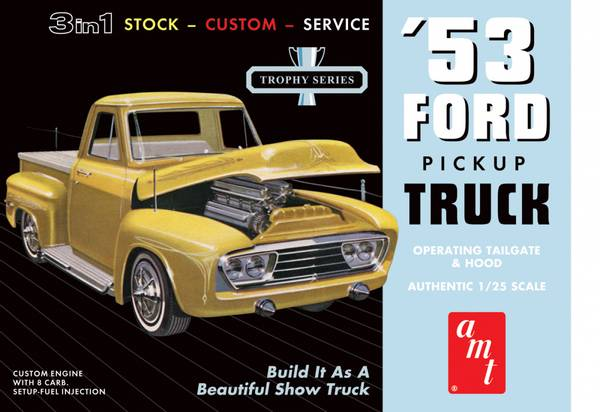Bilde av AMT882/12 - 1953 Ford