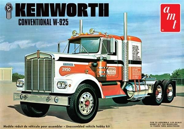 AMT1021/06 - Kenworth W925 Conventional 1:25