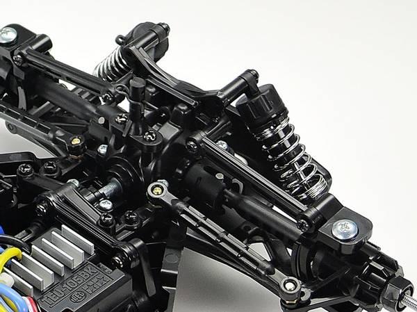Tamiya 47446 - 1/10 Plasma Edge II Gun Metal (TT-02B)