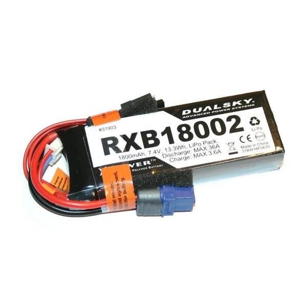 Bilde av 2s 1800mAh - 20C RX LiPo