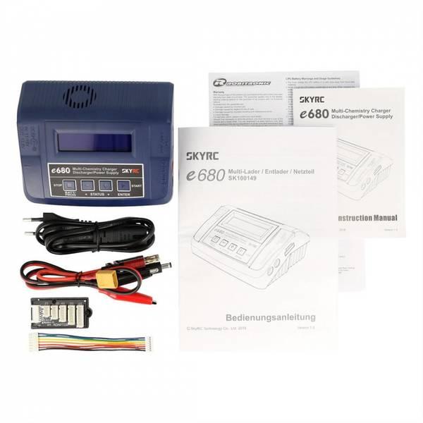 SkyRC E680 12/220V 80W Computerlader