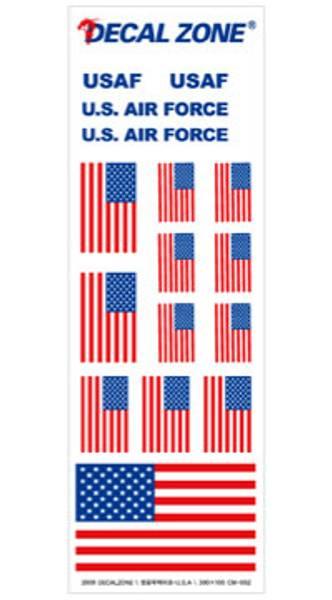 Bilde av CM-002 Decal Zone : U.S.
