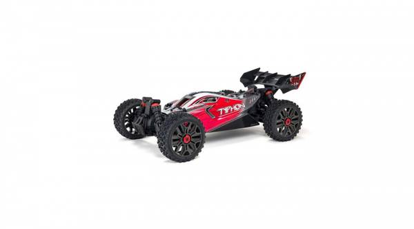 1/8 TYPHON 3S BLX Brushless 4WD Buggy RTR, Red (ARA4306V3)
