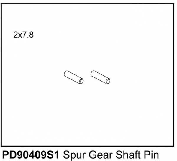 Bilde av Kaiser XS Spur Gear