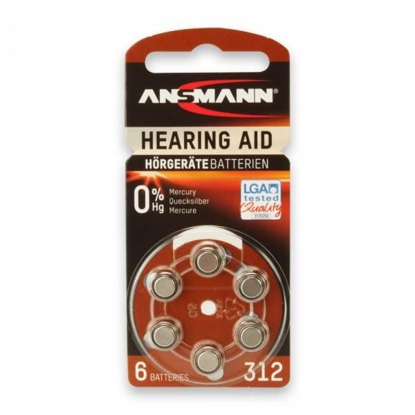 Bilde av Hearing aid battery 312