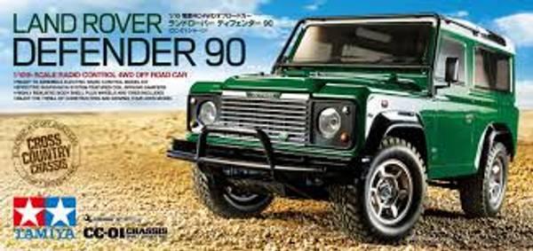 Bilde av Tamiya 1/10 Land Rover
