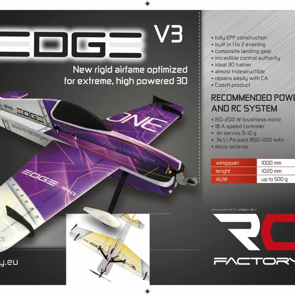 RCF Backyard Edge 540 V3 1000mm (T101)