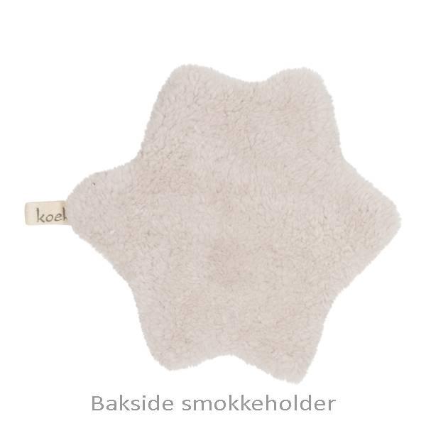 Koseklut og Smokkeholder Oslo Sølvgrå Koeka