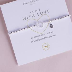 Bilde av Armbånd WITH LOVE Sølv Joma Jewellery