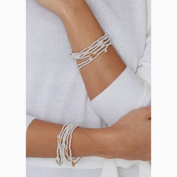 Armbånd CANDY CANE Sølv gull Joma Jewellery