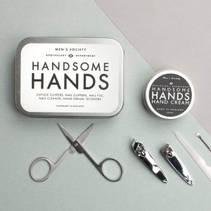 Handsome Hands Manicure gavesett Men's Society