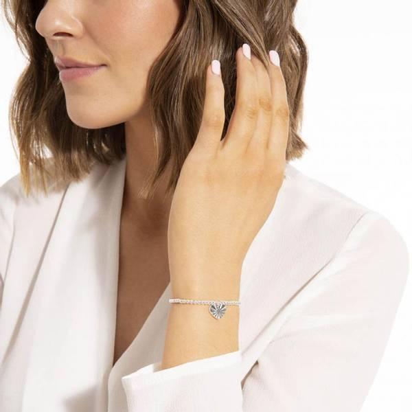 Armbånd SHE BELIEVED SHE COULD Sølv Joma Jewellery