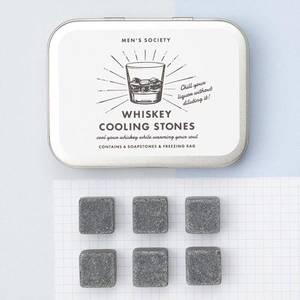 Bilde av Whiskey Cooling Stones gavesett Men's Society