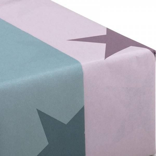 Gaveinnpakning Stjerner Blå-grønn