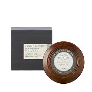 Bilde av Barbersåpe i treskål Spanish Fig & Nutmeg Bath House