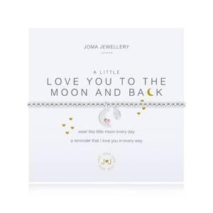 Bilde av Armbånd LOVE YOU TO THE MOON AND BACK Sølv Joma Jewellery