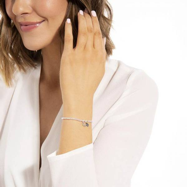 Armbånd LOVE YOU TO THE MOON AND BACK Sølv Joma Jewellery