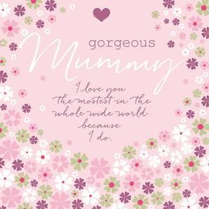 Bilde av Kort Mamma Gorgeous Mummy Rufus Rabbit