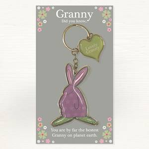 Bilde av Nøkkelring Bestemor Lovely Granny Rufus Rabbit