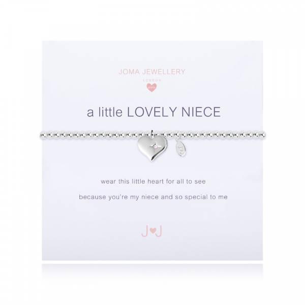 Armbånd LOVELY NIECE Sølv Rosa Barn Joma Jewellery