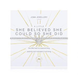 Bilde av Armbånd SHE BELIEVED SHE COULD Sølv Joma Jewellery
