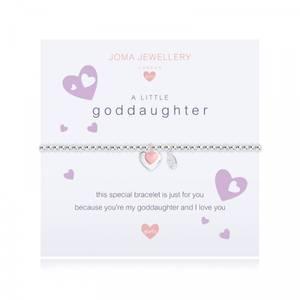Bilde av Armbånd GODDAUGHTER Sølv rosa Barn Joma Jewellery