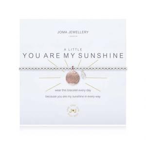 Bilde av Armbånd YOU ARE MY SUNSHINE i Rosegull sølv Joma Jewellery