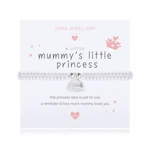 Bilde av Armbånd MUMMY'S LITTLE PRINCESS Sølv beige Barn Joma Jewellery