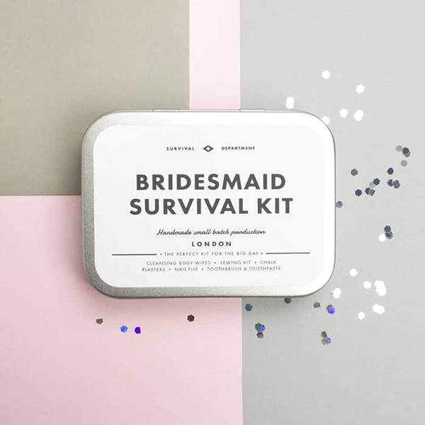 Bridesmaid Survival sett Men's Society