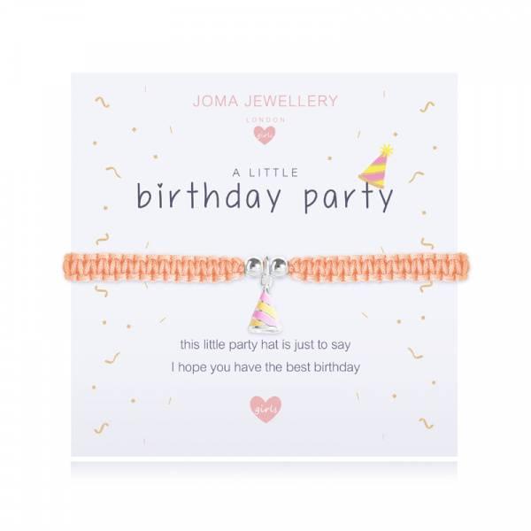 Armbånd BIRTHDAY PARTY Sølv gul Barn Joma Jewellery