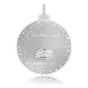 Bilde av Ringer CHRISTMAS WISH 3 stk Sølv Joma Jewellery