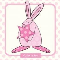 Kort A star is born Rosa Rufus Rabbit