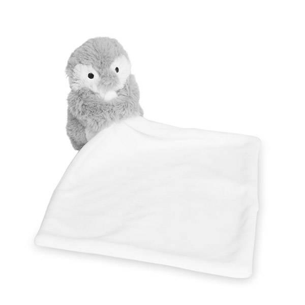 Koseklut PINGVIN hvit grå Katie Loxton
