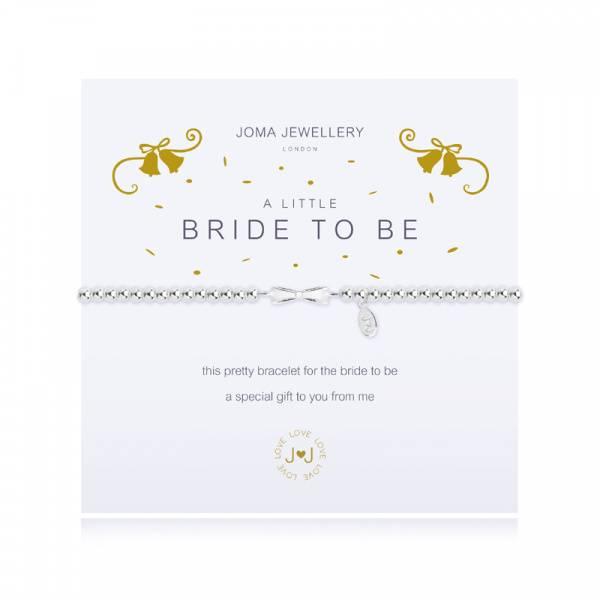 Armbånd BRIDE TO BE Sølv Joma Jewellery
