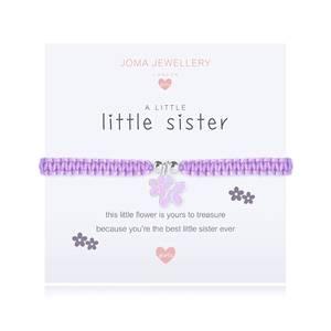Bilde av Armbånd LITTLE SISTER Sølv lilla Barn Joma Jewellery