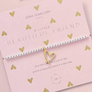 Bilde av Armbånd BEAUTIFUL FRIEND hjerte Joma Jewellery