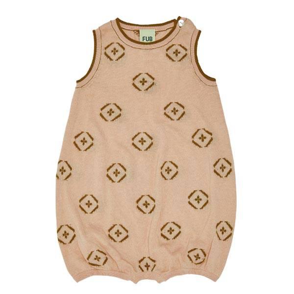 Baby Romper Suit Rose FUB