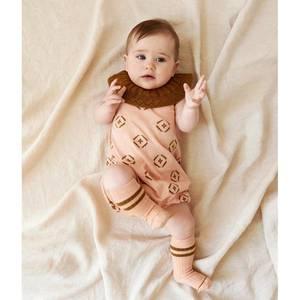 Bilde av Baby Romper Suit Rose FUB