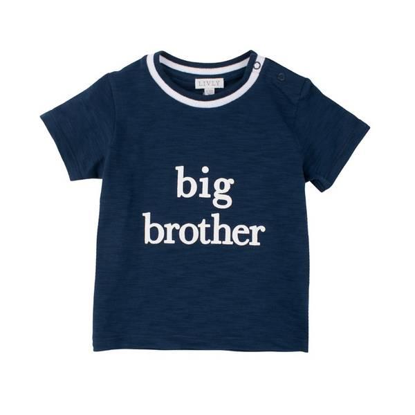 T-skjorte BIG BROTHER blå Livly