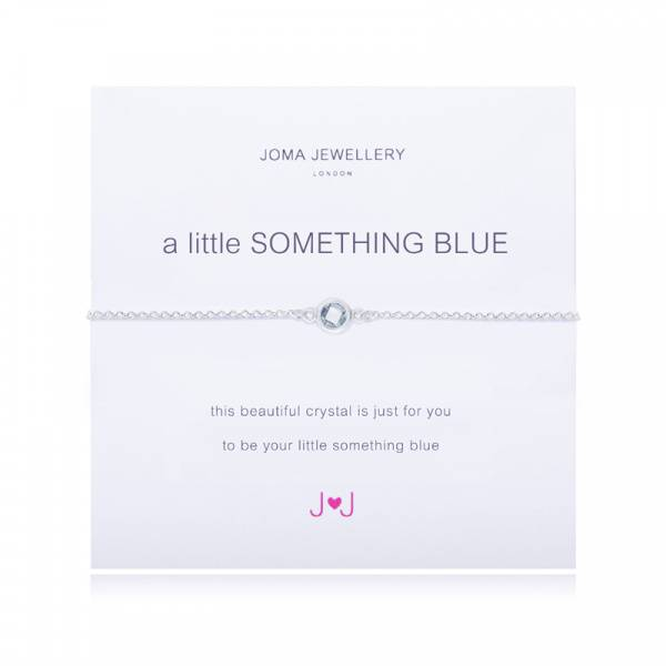 Armbånd SOMETHING BLUE Sølv blå Joma Jewellery