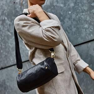 Bilde av Crossover veske Golden Chic rund svart gull Depeche