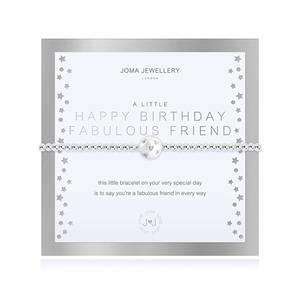 Bilde av Armbånd HAPPY BIRTHDAY FABULOUS FRIEND Joma Jewellery