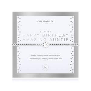 Bilde av Armbånd HAPPY BIRTHDAY AMAZING AUNTIE Joma Jewellery