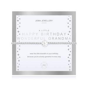 Bilde av Armbånd HAPPY BIRTHDAY WONDERFUL GRANDMA Joma Jewellery