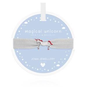 Bilde av Hårstrikk og Armbånd MAGICAL UNICORN Barn Joma Jewellery