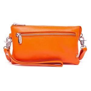 Bilde av  Skinnveske clutch Fashion oransje Depeche