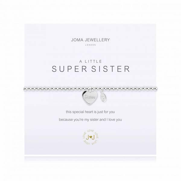 Armbånd SUPER SISTER Sølv Joma Jewellery