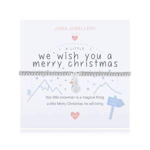 Bilde av Armbånd WE WISH YOU A MERRY CHRISTMAS Sølv Barn Joma Jewellery